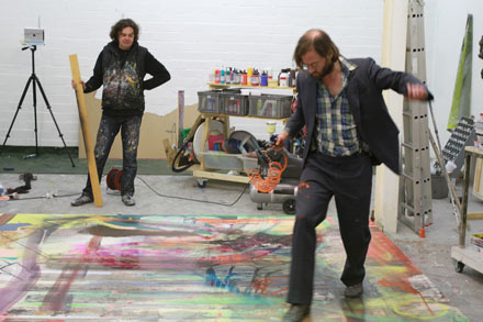 working process together with Robert Klümpen (may 2013)